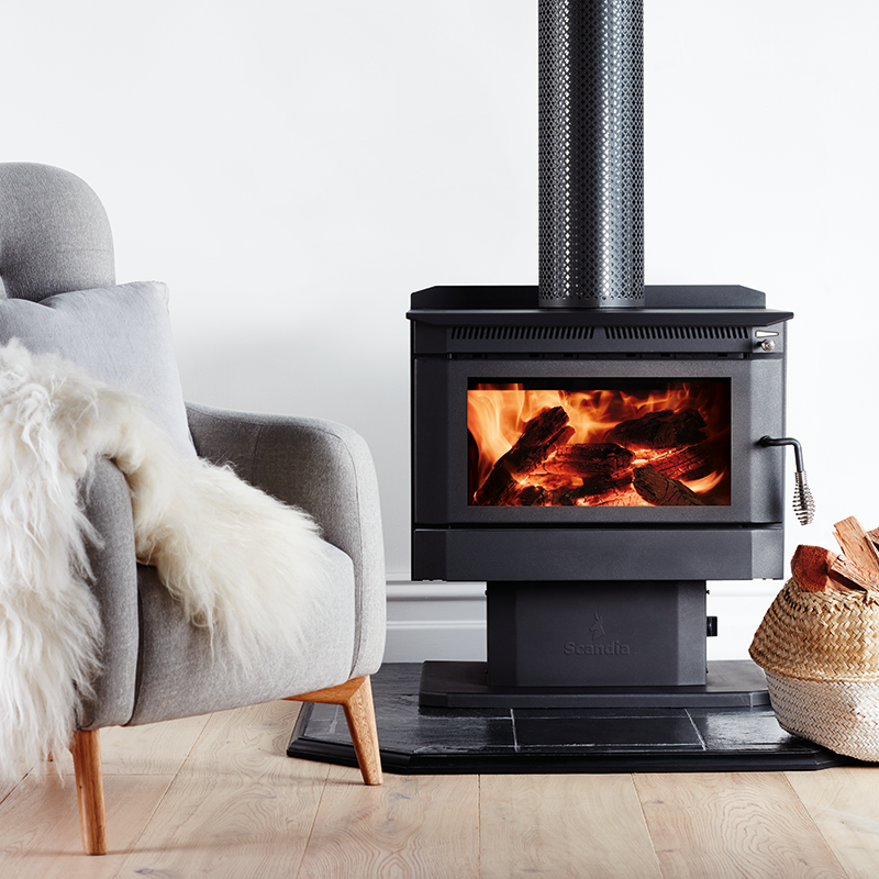 Find Scandia Warmbrite 200sqm Indoor Convection Wood Heater At Bunnings Warehouse Visit Your Local Store For The Wi Wood Heater Freestanding Fireplace Scandia