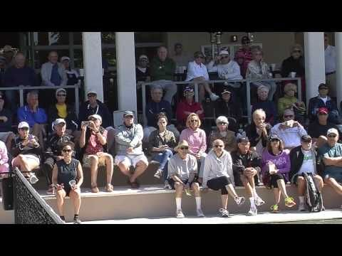 Tennis Exhibition at Boca West Country Club - February 2015