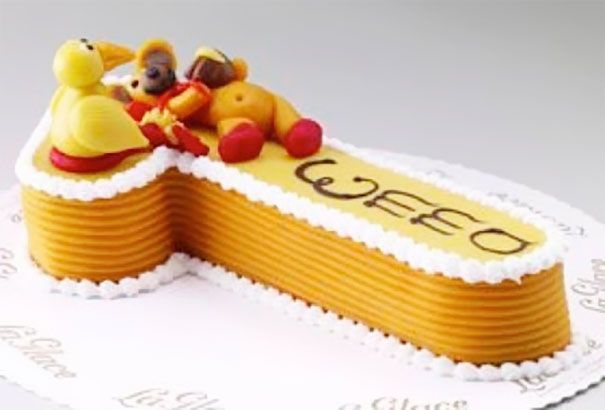 Okay I Know This Cake Is A Number 1 And It Says Emma Design
