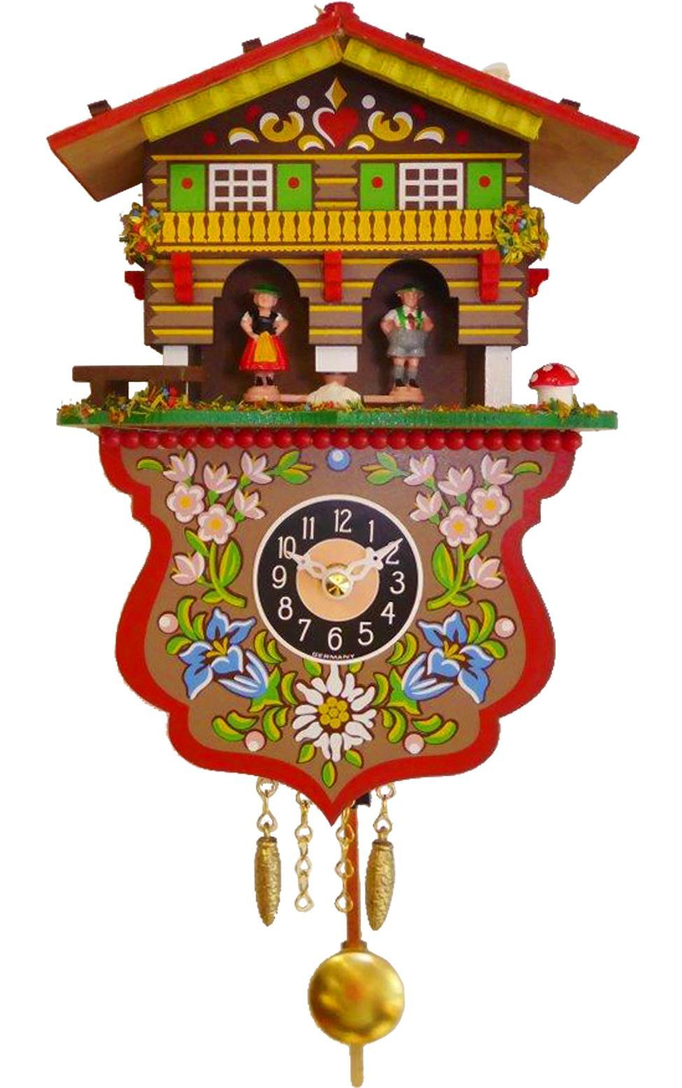 engstler battery operated wall clock with music and chimes on wall clocks battery operated id=70190
