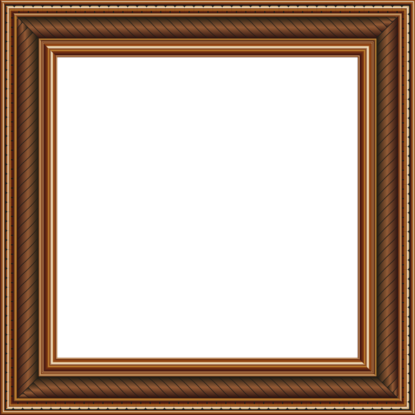Transparent Brown Png Photo Frame Brown Picture Frames Photo Frame Gallery Frame