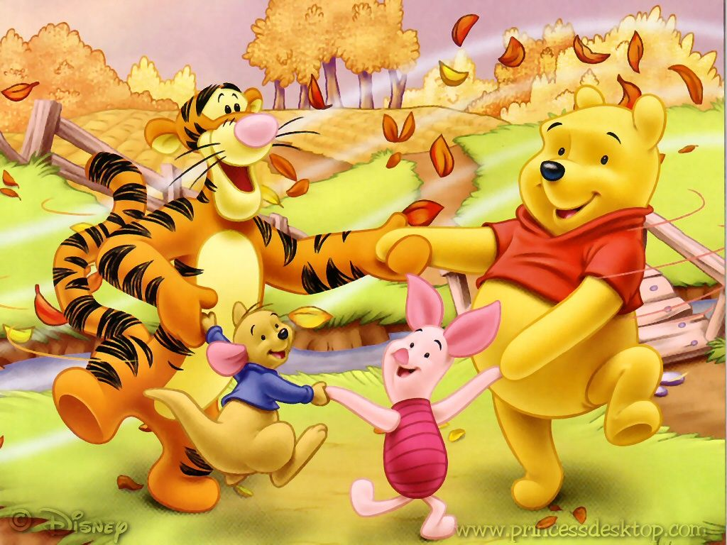 Fall Wallpaper Backgrounds kid Winnie the pooh his