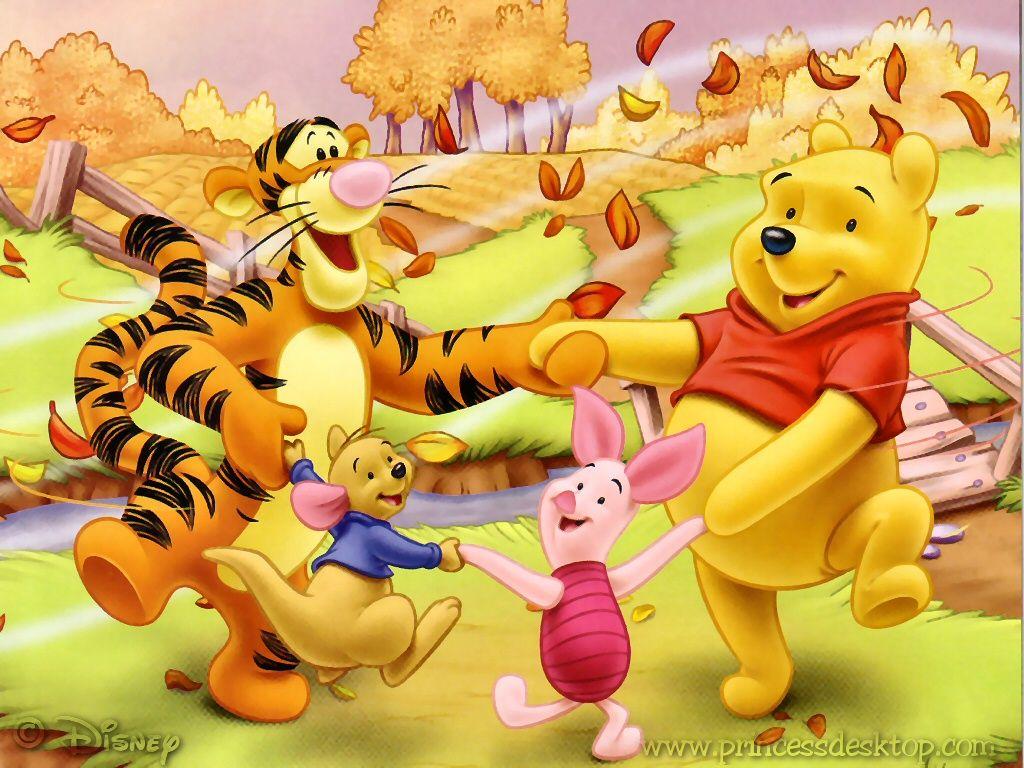 Ring Around Pooh Bear Winnie The Pooh Friends Winnie The Pooh Cartoon Winnie The Pooh