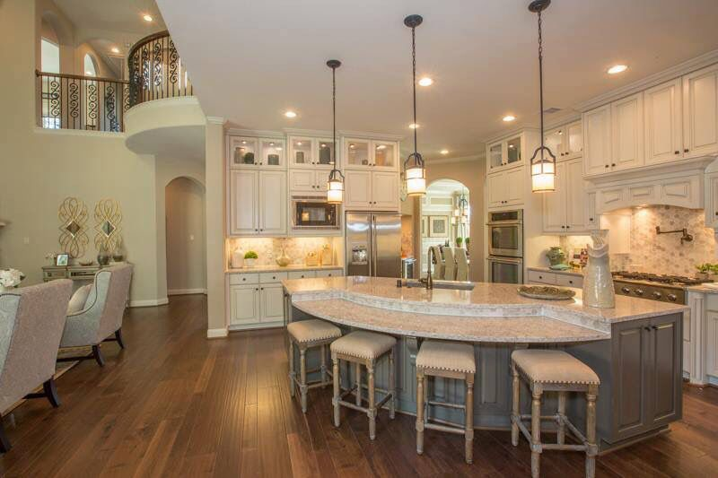 Beautiful Kitchen Round Kitchen Island Curved Kitchen