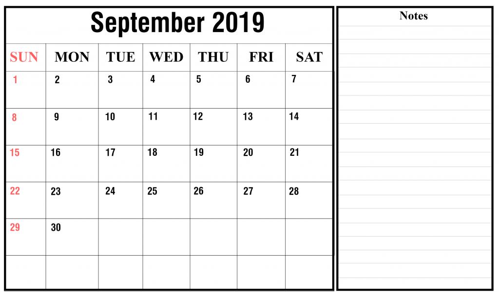 Get Free Printable Editable Printable Calendar Sept 2020 Background