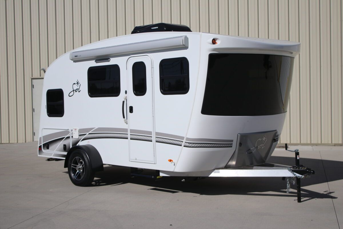 Get A First Look At The New 2019 Sol Trailer Rv Trailers Small