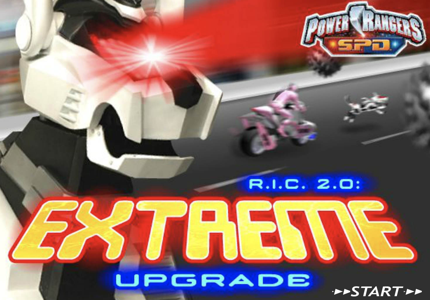 Play Power Rangers Extreme Upgrade Game in freeplaygames