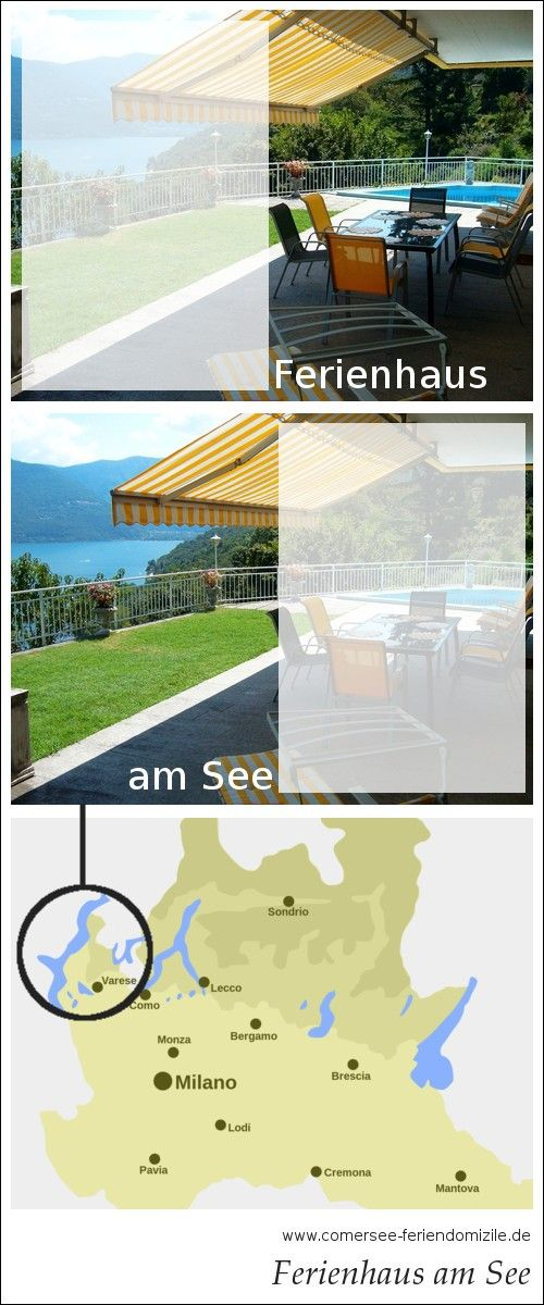Ferienhaus direkt am Lago Maggiore (con immagini) Lago