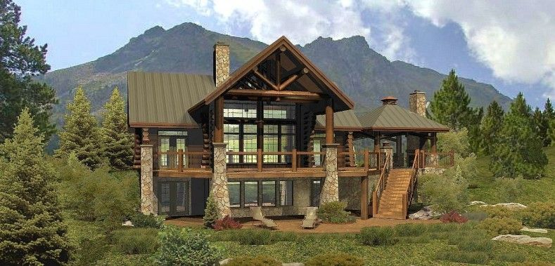 images about log n timberframe homes on Pinterest   Timber       images about log n timberframe homes on Pinterest   Timber frames  Timber frame homes and Log homes