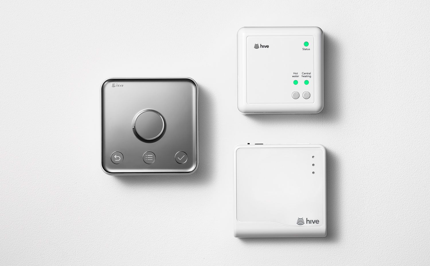 Hive active heating 2, receiver and hub to connect your