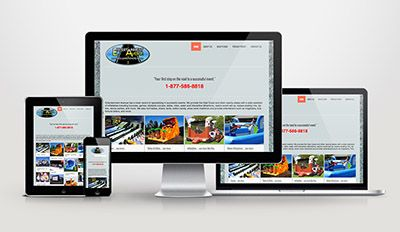 A responsive website design we recently launched for Entertainment Avenue.
