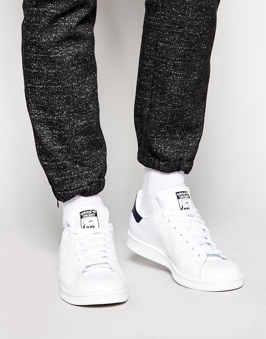 online store a9d15 ea19a Immagine 1 di adidas Originals - Stan Smith M20325 - Scarpe da ginnastica  in pelle