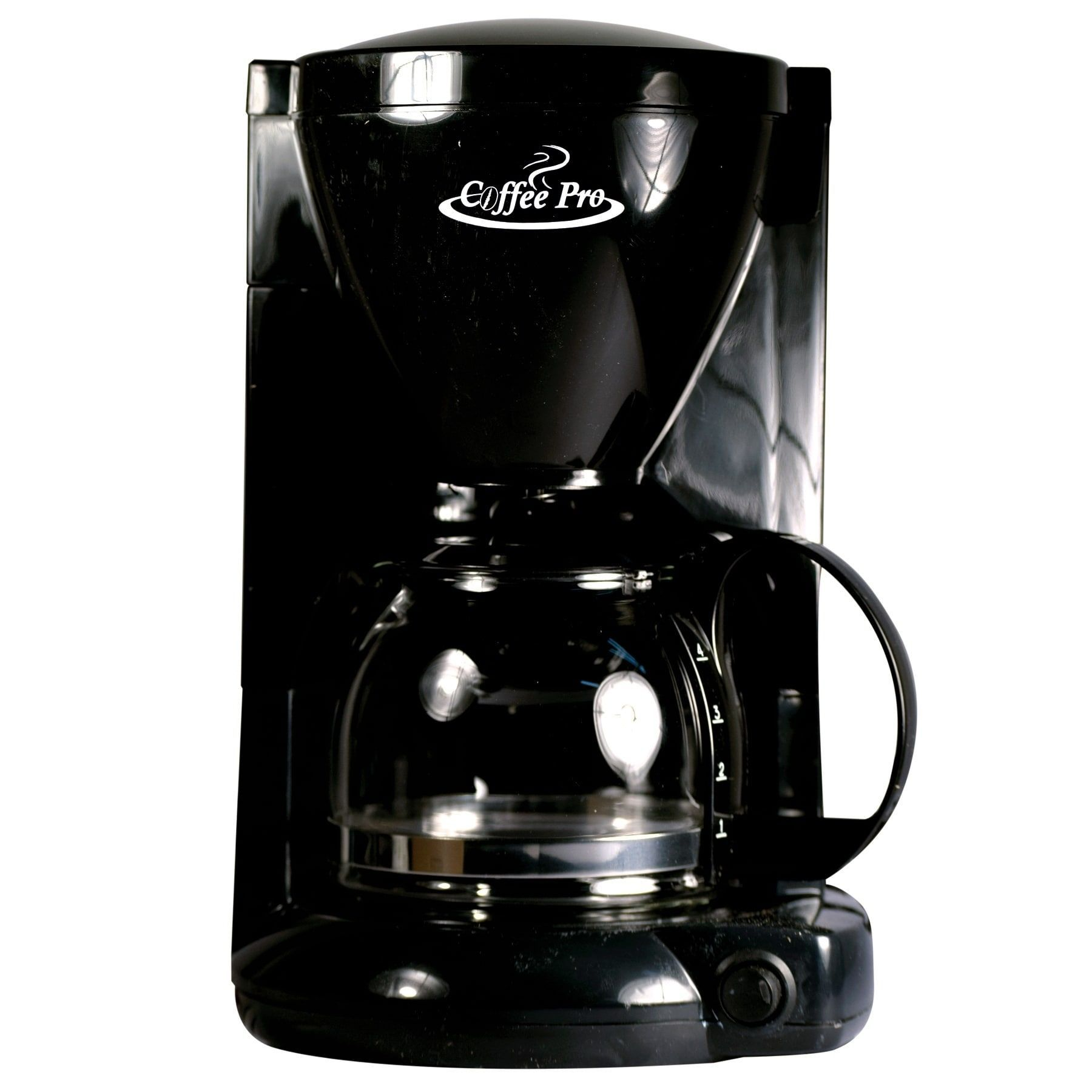Coffee Pro Coffee Maker Black 4 Cup Plastic 4 Cup Coffee Maker Electric Coffee Maker Coffee Maker