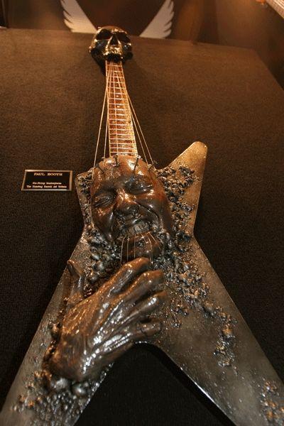 Dimebag Darrell Tribute Dean Guitar <3 WOW