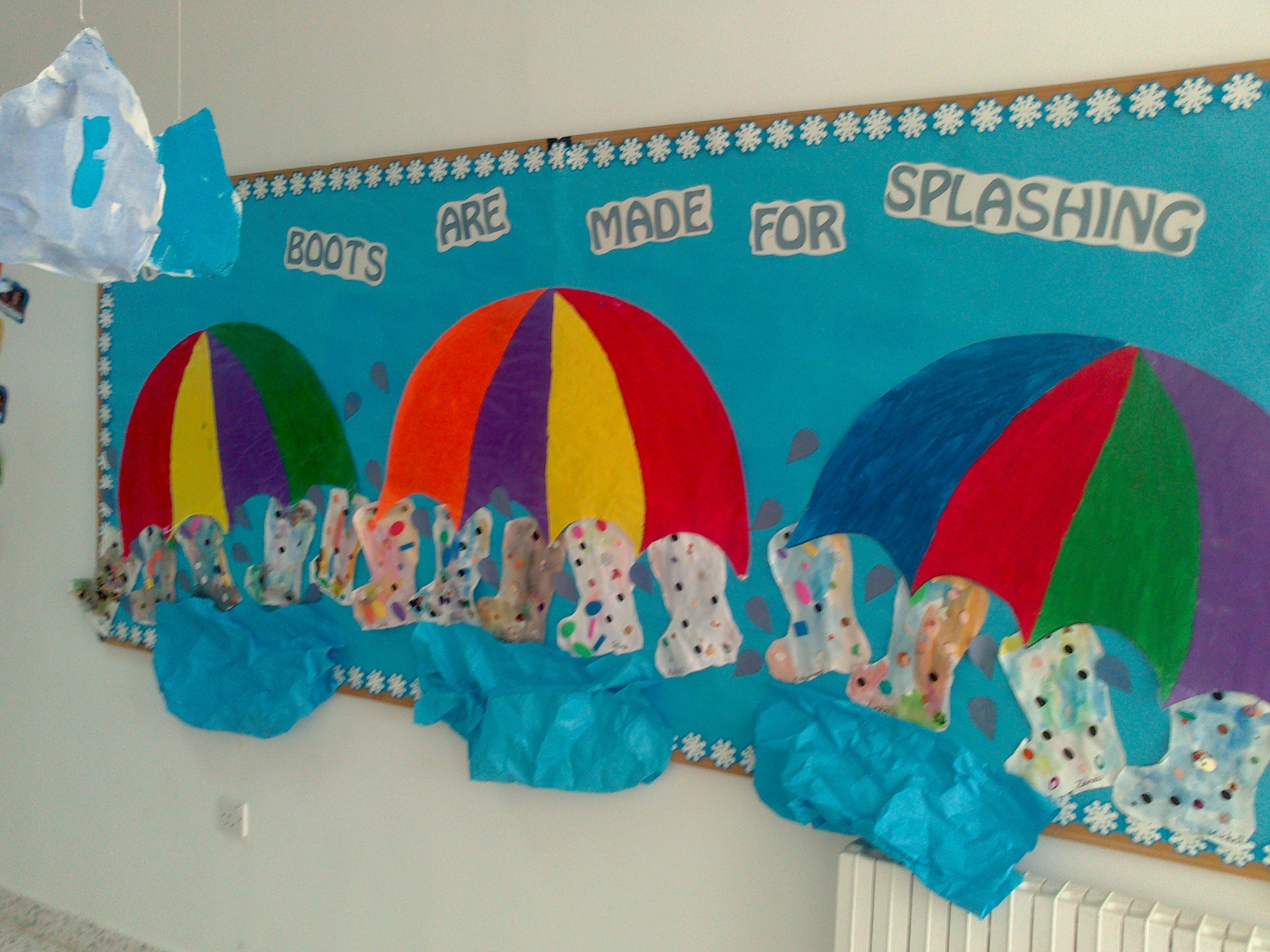 Nursery Bulletin Board Ideas