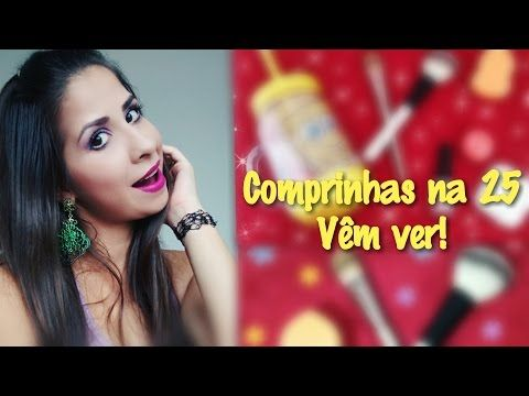Comprinhas na 25 de março l Por Fernanda Maia - YouTube