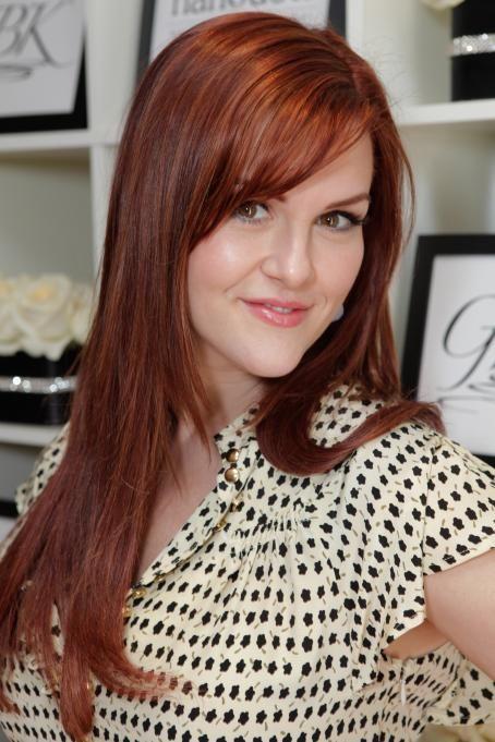 Best 25 Sara Rue Ideas On Pinterest Dark Red Brown Hair