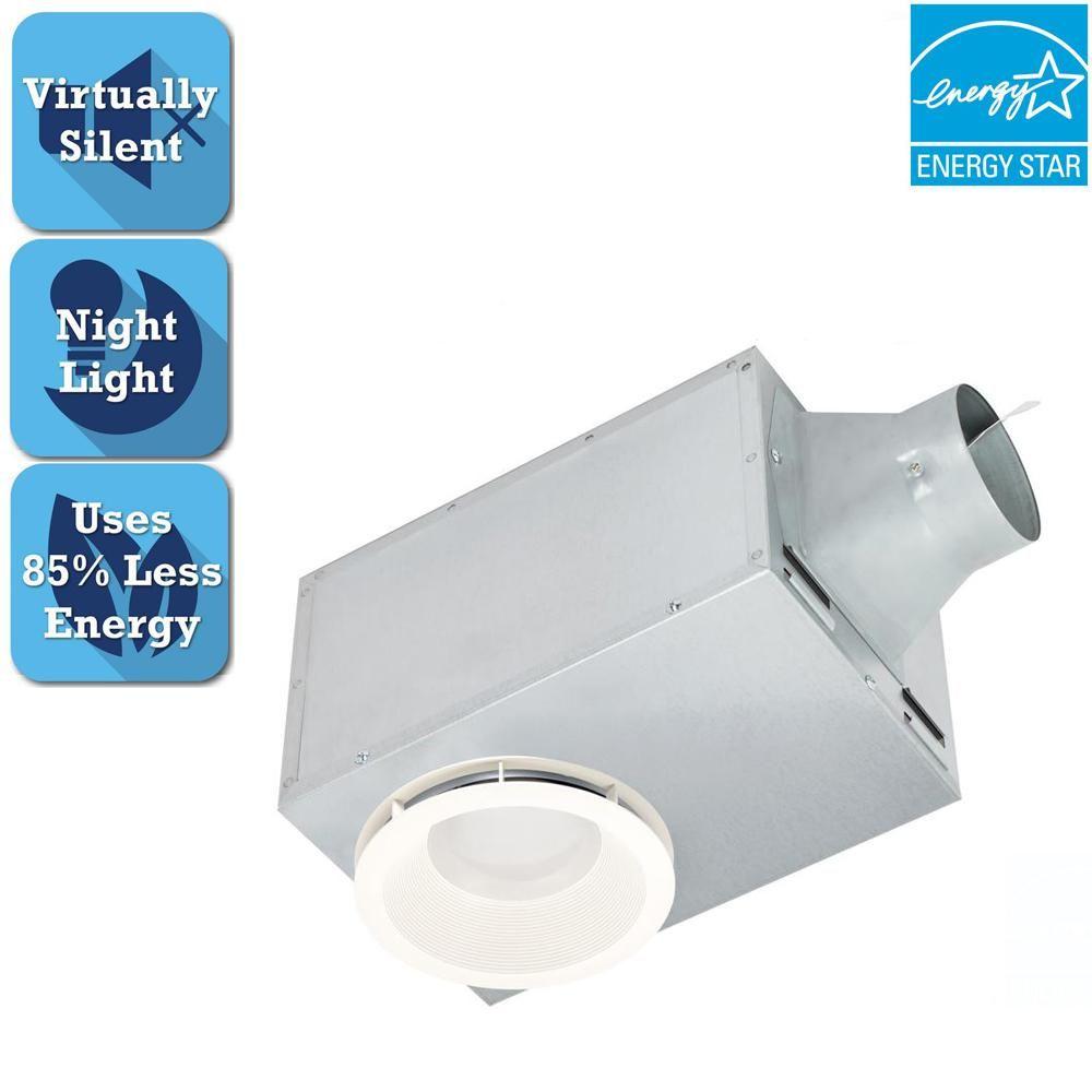 Delta Breez 80 Cfm Recessed Ceiling Bathroom Exhaust Fan