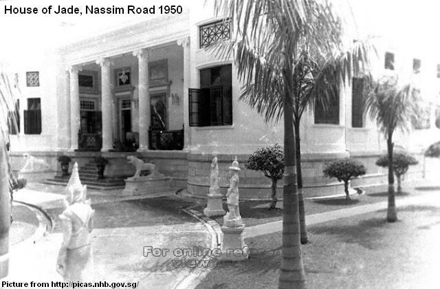 Abandoned House Of Jade Nassim Road Singapore The Vast Collection In The House Of Jade Managed To Escape The Destructio Mansions Modern Island Colonial House