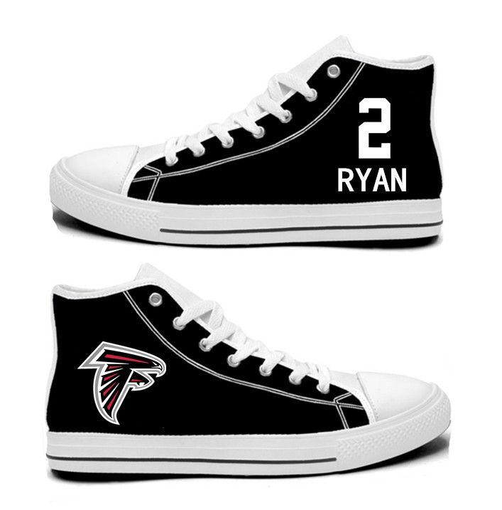 6c27d2842a NFL New England Patriots Jimmy Garoppolo blackHand Painted Unisex Custom  Centre-TOP Canvas Shoes.