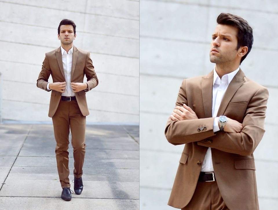 Marc G. - BROWN SUIT #ZARAMAN | B Fashion - Look Book - How To ...