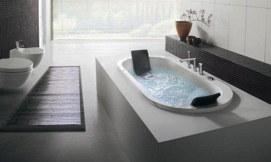 Whirlpool Badewannen von BluBleu zeigen Eleganz und zeitloses Design ...
