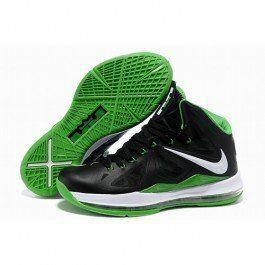 7f45360d49c0 Most Wanted Nike Air Max LeBron James 10 X Men Black Emerald Green ...