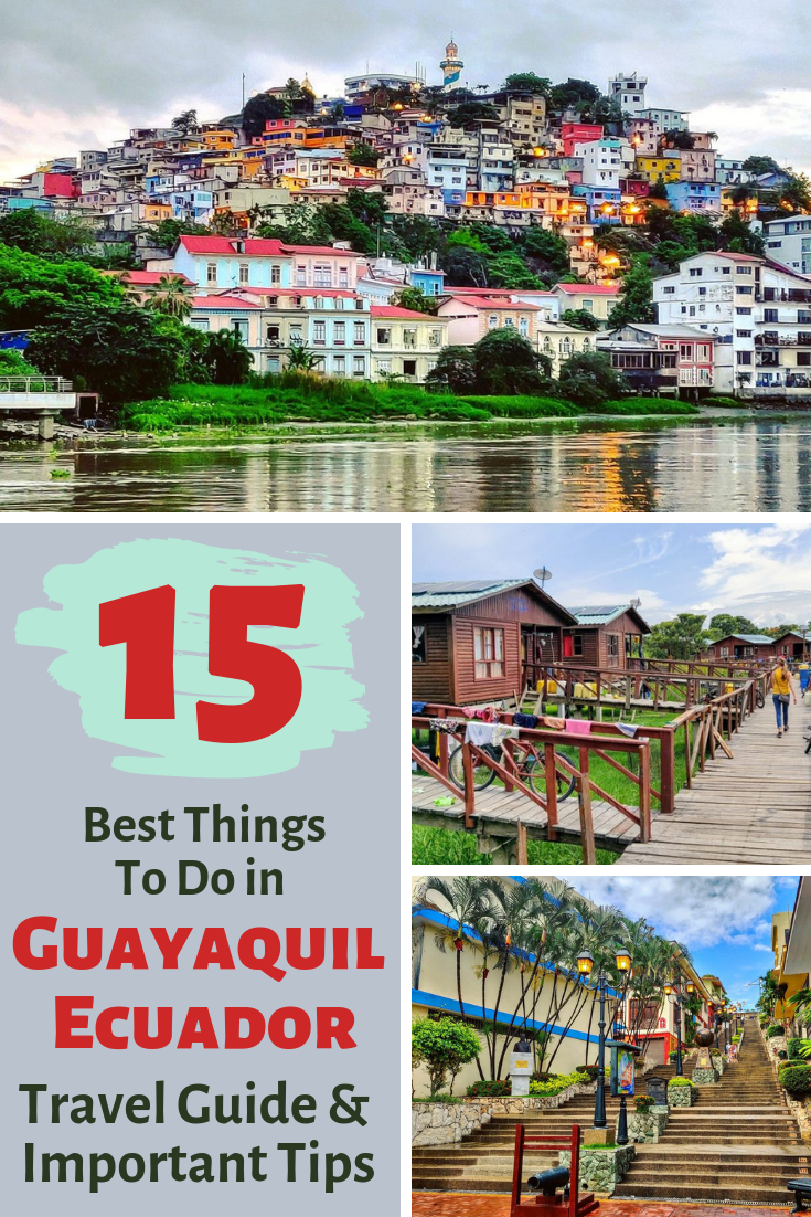 Ecuador's largest city tends to get overlooked by travelers in this country that has so much to offer. Yet, we found that there are actually lots of fun things to do in Guayaquil. See why this big sprawling city on the river may be worth stopping into during a trip to Ecuador! #Ecuador #Guayaquil #travel