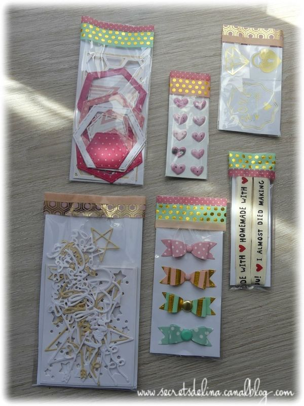 Pack pretty mariage balises embellissements pour cartes//artisanat