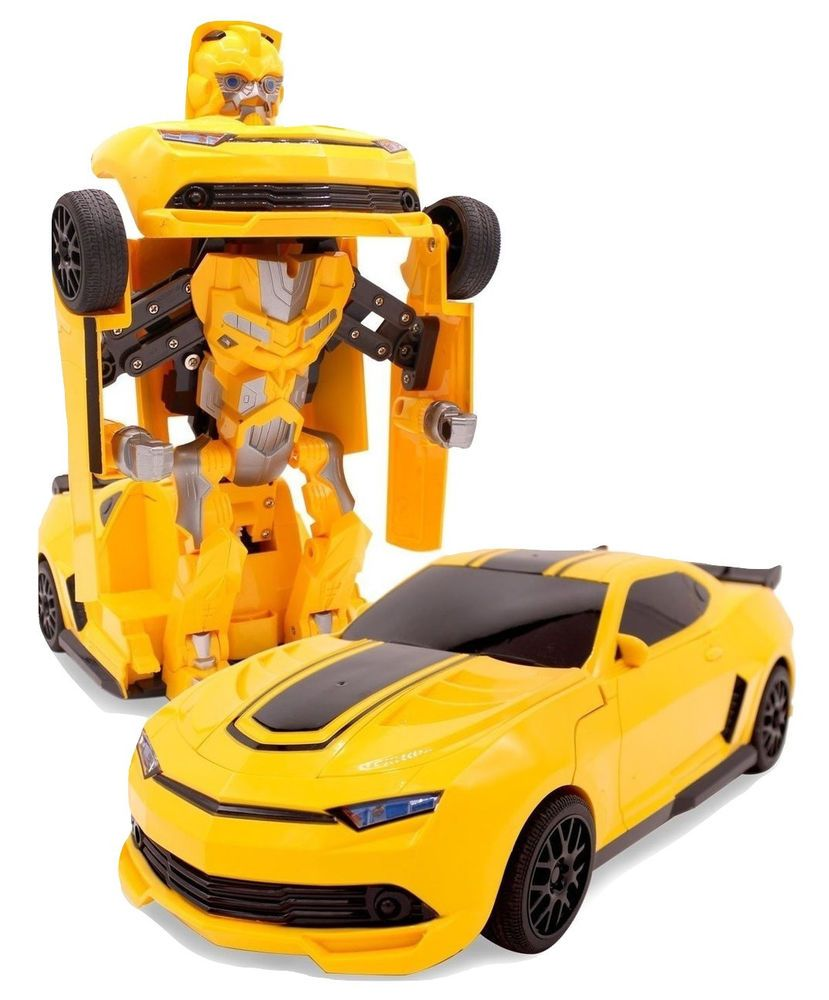 Figure 8 Cars For Sale: Transforming Bumblebee Action Figure Remote Control