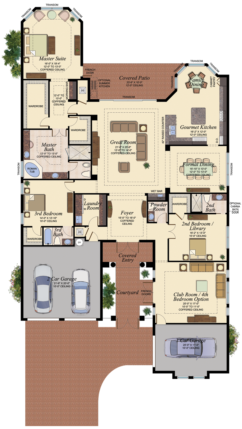 Victoria Home For Sale Plan In The Bridges Delray Beach Florida House Blueprints New House Plans Dream House Plans