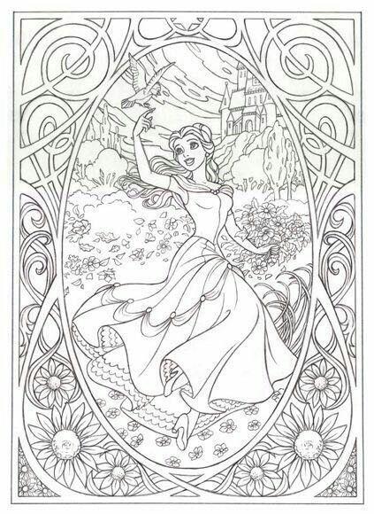 Princesa Con Imagenes Dibujos Para Colorear Disney Paginas