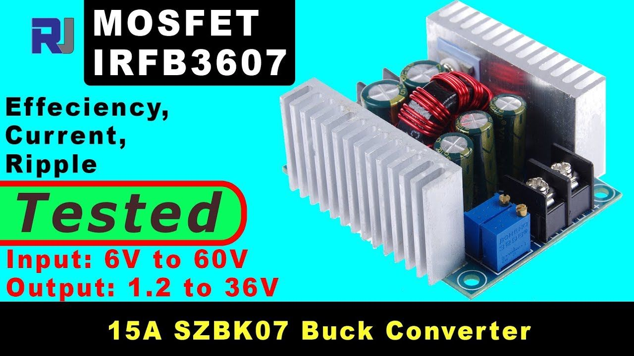 Review Of Szbk07 300w 20a Buck Converter 1 2v To 36v With Constant Current Constant Current Converter Current