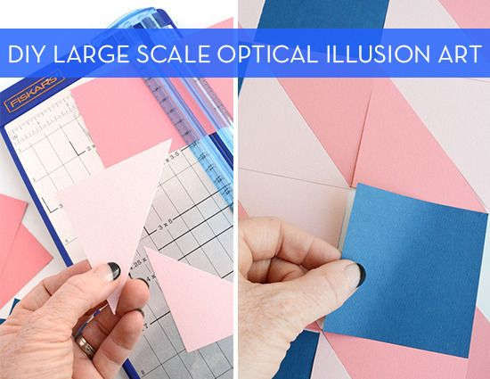 How To: Make Easy Large-Scale Optical Illusion Art with