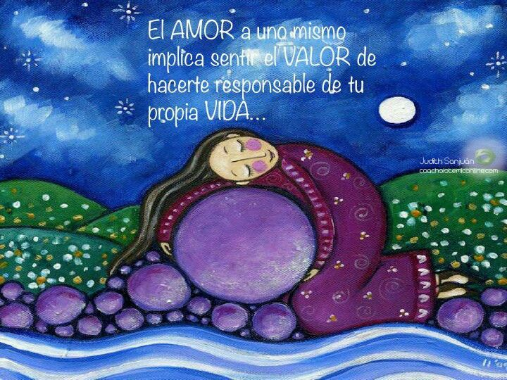 Amor A Mi Mismo Ilustraciones Dibujos De La Naturaleza Arte Naif
