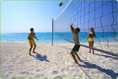 Enjoy Beach Volleyball In Columbus Team Up With Friends And Sign Up For Volleyball League Tournament Today Get Vip Passes Beach Beach Volleyball Beach Games