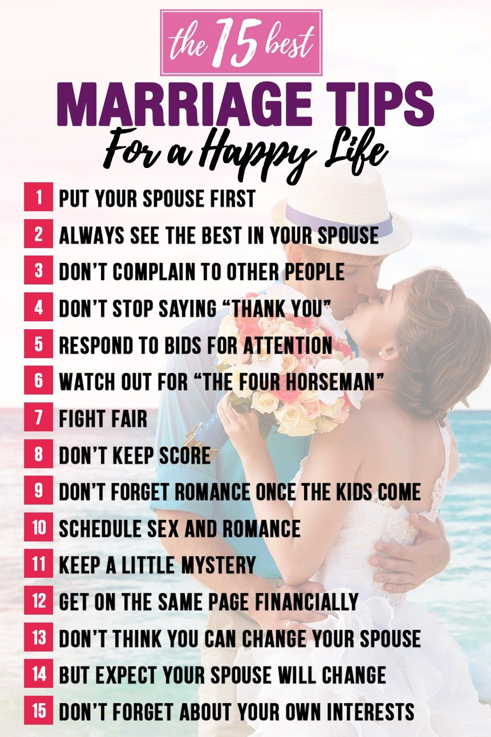 Habits For A Long Happy Married Life Marriage Happy Marriage