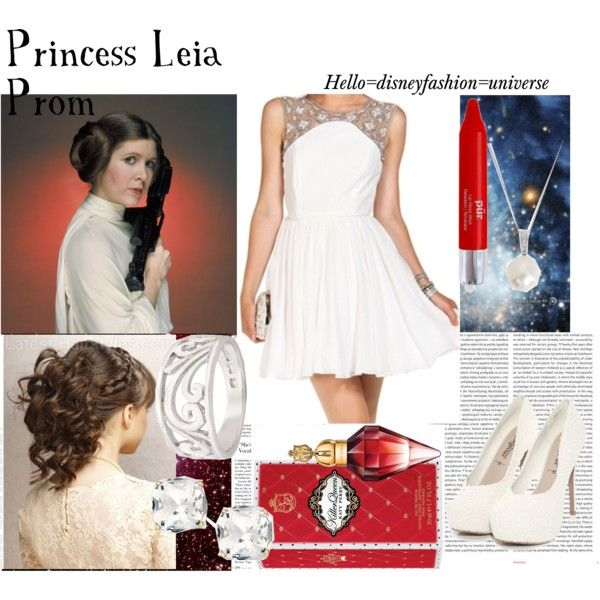 Princess Leia Prom By Hello Disneyfashion Universe On Polyvore Featuring City