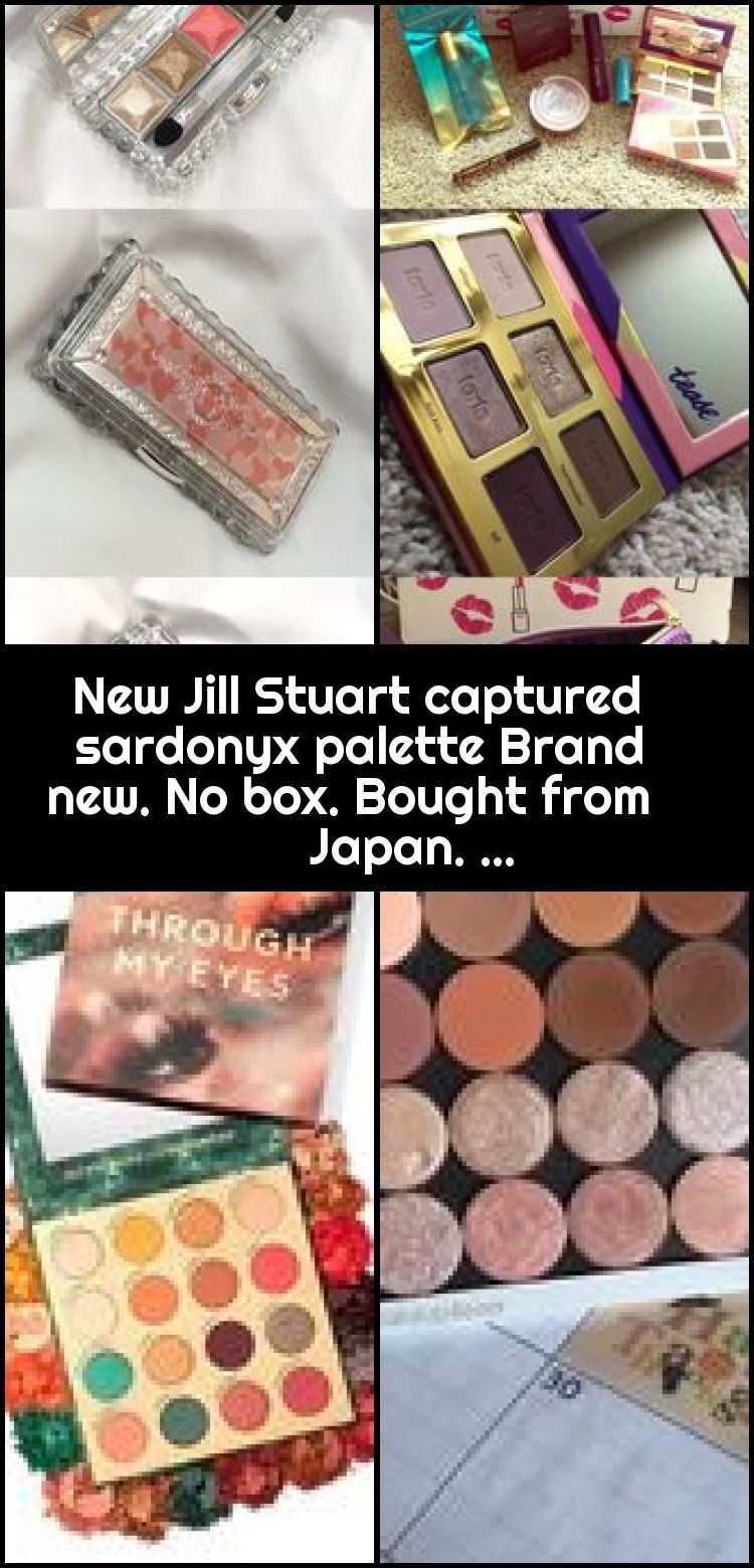 New Jill Stuart captured sardonyx palette Brand new. No