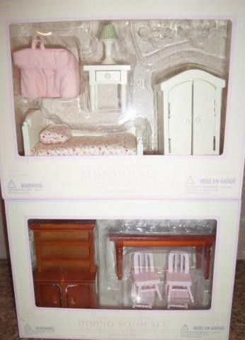 Pottery Barn Kids Westport Dollhouse Furniture Bedroom  Dining Room