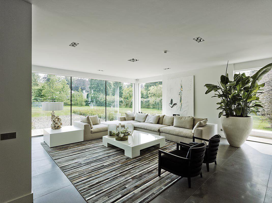 Bob manders architectuur droomhuis villa oisterwijk living
