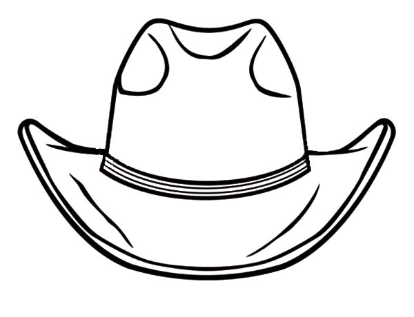 Awesome Cowboy Hat Coloring Pages Kids Play Color Cowboy Hats Drawing Hats Coloring Pages