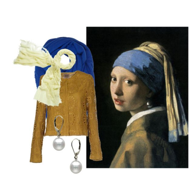 With Pearl Earring