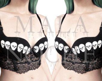 34e42f9fa14 Skull lingerie