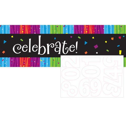 Milestone Celebrations Giant Party Banner