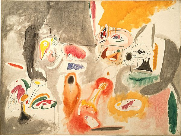 Arshile Gorky Abstract Expressionism Abstract Artist Painting