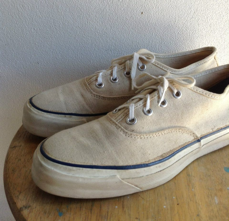 Vintage 70s Jc.penney Deck Shoes Sneakers