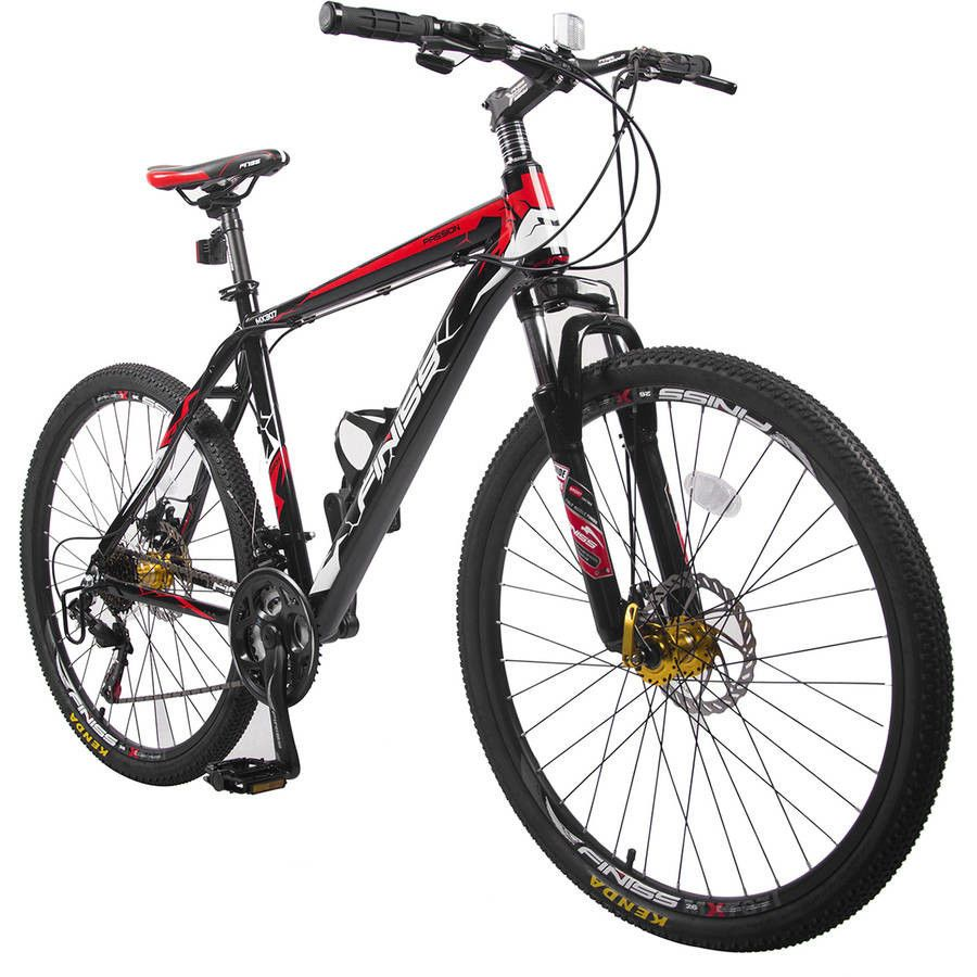 26 Inch Aluminum 21 Speed Mountain Bike Racing Bicycle Disc Brakes