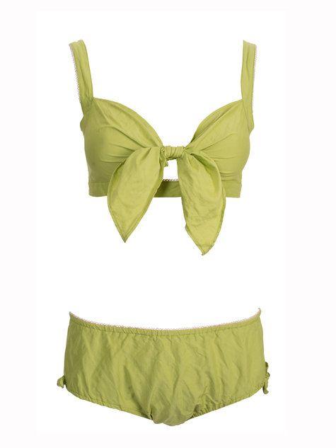 Burda pattern - vintage style bikini. | Retro swimwear | Pinterest ...