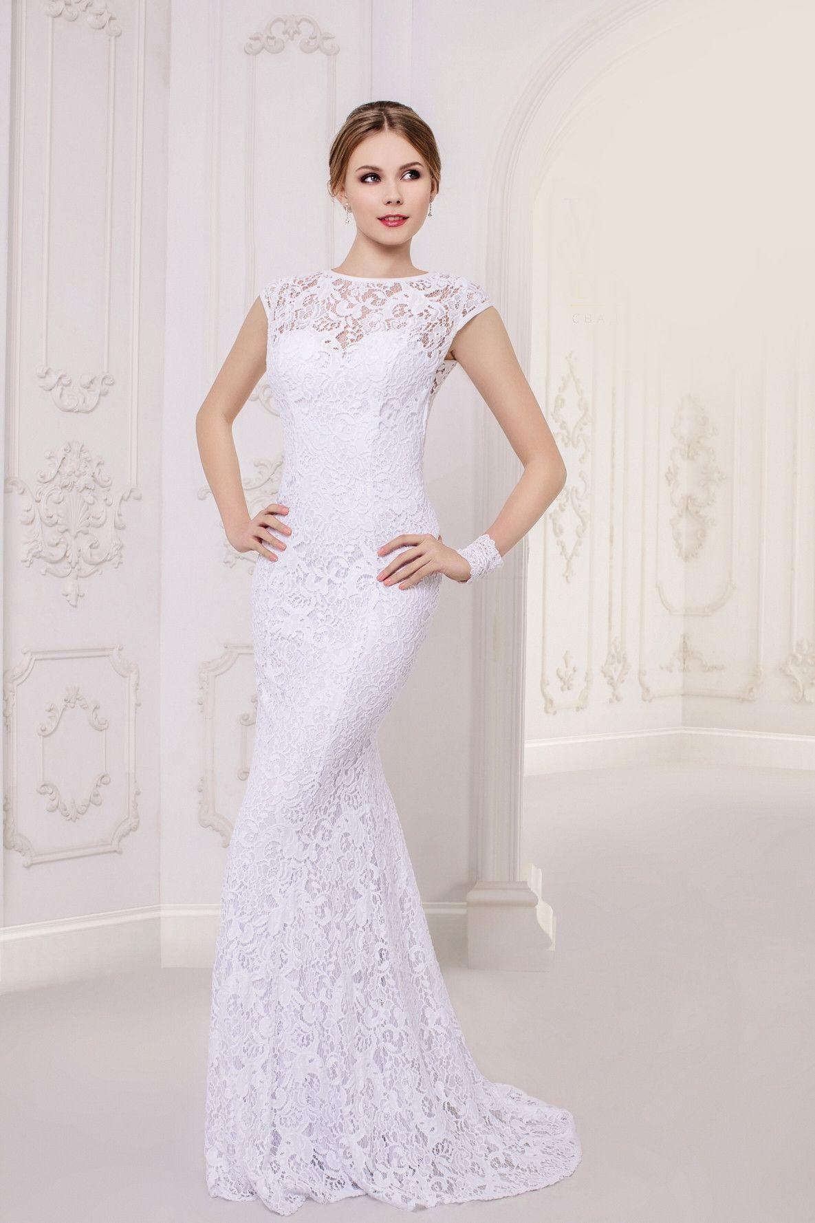 Lace dress wedding  Long Lace Dress Cap Sleeved  Lace dress Cap and Wedding dress